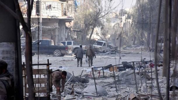Syrische Armee erobert großen Stadtteil von Aleppo