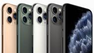 Die drei markanten Kameraaugen des iPhone 11 Pro