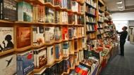Eine Buchhandlung in Königstein.
