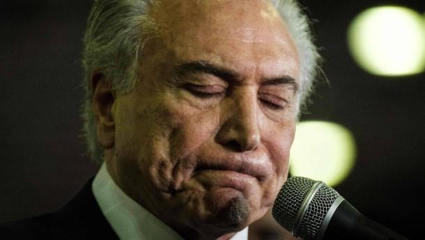 Staatsanwaltschaft ermittelt gegen acht brasilianische Minister
