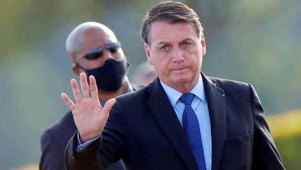 Wie Bolsonaro seine Krankheit politisch ausschlachtet