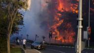 Brände in Israel werden immer bedrohlicher