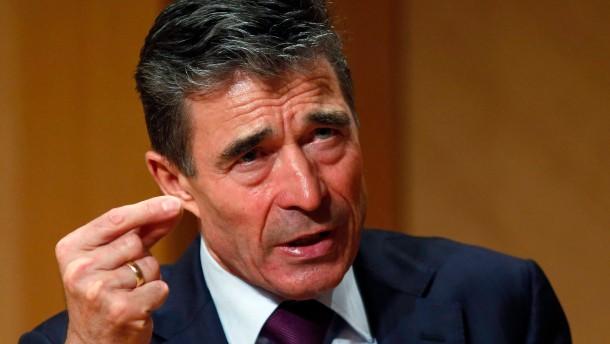 Rasmussen will Nato erweitern