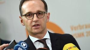 Maas schreibt Brandbrief an türkischen Justizminister