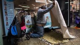 Frankfurt stellt Angebot für Obdachlose im Winter vor
