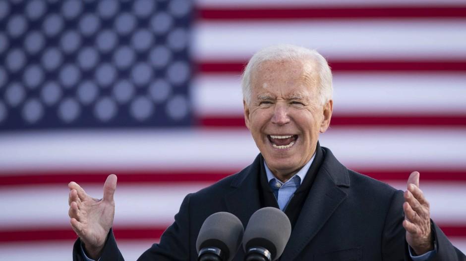 Schafft er es nun?: Joe Biden