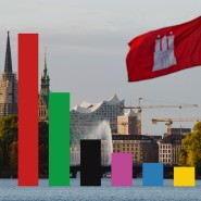 Hamburg wählt am 23. Februar eine neue Bürgerschaft.