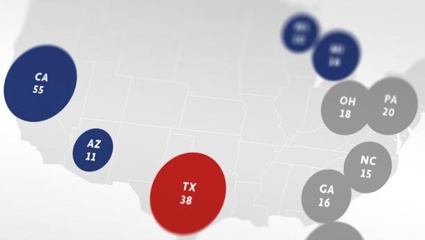 Auf diese zehn Staaten kommt es an