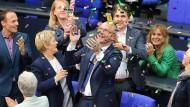 Der Schlagabtausch im Bundestag