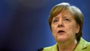 Merkel: Zukunft der EU hat Vorrang vor Brexit-Gesprächen
