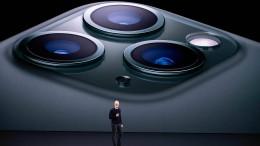 Apple stellt iPhone mit drei Kameras vor
