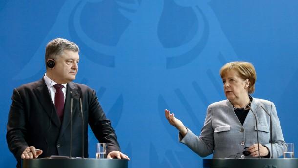 Merkel sieht nur wenige Fortschritte im Ukraine-Konflikt