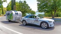 Mit dem Elektroauto in den Campingurlaub?