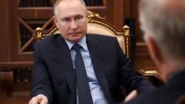 Putin erlaubt eigenes Weiterregieren bis 2036