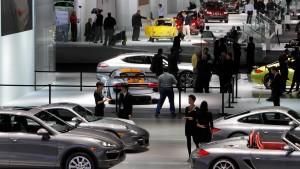 Automesse debattiert Umweltauflagen