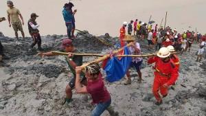 Das Unglück in Burma wirft ein Licht auf ein blutiges Geschäft