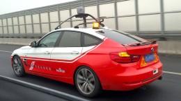 Selbstfahrende Autos auf chinesischen Straßen