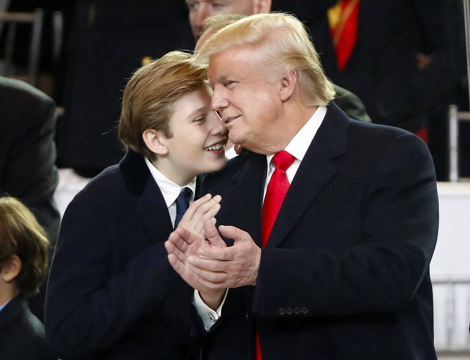 Hass Gegen Donald Trump Richtet Sich Auch Gegen Sohn Barron