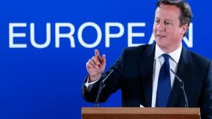 London treibt EU-Debatte voran