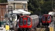 U-Bahn-Haltestelle Parsons Green in London: In einer der Bahnen explodierte an der Station am Freitag eine Bombe.
