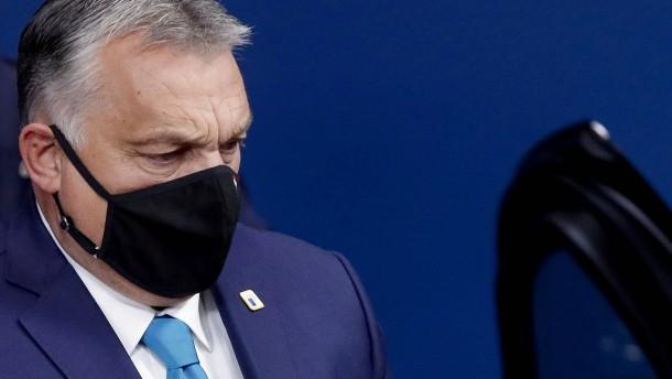Orban droht laut Bericht mit Veto gegen EU-Haushalt