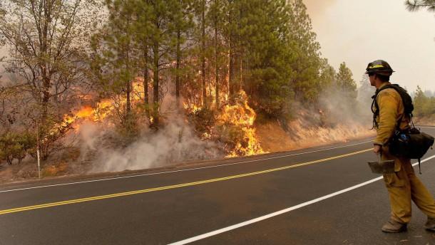 Der Gouverneur von Kalifornien rief den Notstand aus