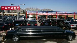 Autoabsatz in China sinkt erstmals seit zwei Jahrzehnten