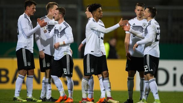 DFB-Junioren weiter auf Erfolgskurs