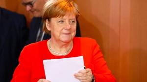 Angriff Merkel?