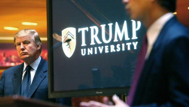 Vergleich in Rechtsstreit um Trump University
