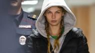 In Gefahr: Anastassija Waschukjewitsch