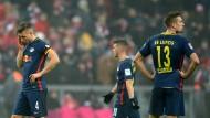 Das war deutlich: Nach dem 0:3 in München üben die Leipziger deutliche Selbstkritik