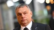 Ungarns Ministerpräsident Viktor Orbán klagte zusammen mit der Slowakei gegen die Flüchtlingsquote der EU.