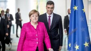 Merkel dämpft Erwartungen an EU-Gipfel