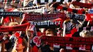 Eintracht-Fans randalieren in drei Bundesländern