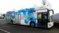 Vorbild: Busse mit Antrieben, die ihren Strom aus Brennstoffzellen beziehen, sind sehr umweltfreundlich.