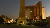 Mandalay Bay Hotel und Kasino in Las Vegas: Stephen Paddock durfte hier umsonst ein Zimmer beziehen.