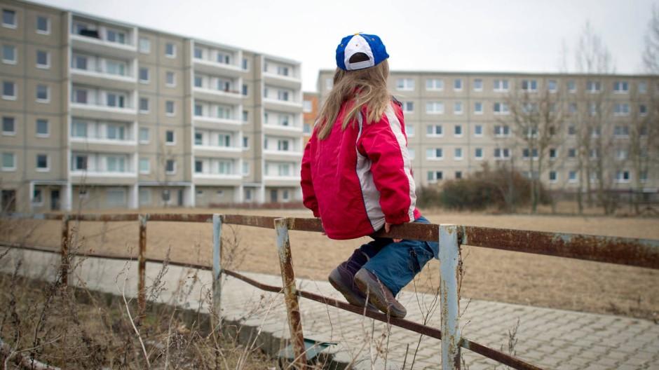 Benachteiligt: Kinder leiden früh unter der Armut ihrer Familie.