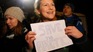 Erste Greenpeace-Aktivistin auf freiem Fuß