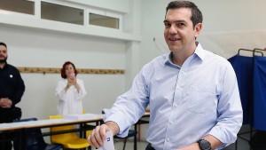 Tsipras gibt Termin für Neuwahlen in Griechenland bekannt