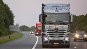 Lastwagenhersteller schlagen bei CO2-Plänen Alarm