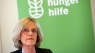 Die Präsidentin der Welthungerhilfe, Bärbel Dieckmann