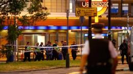 Explosion in Londoner U-Bahn-Station