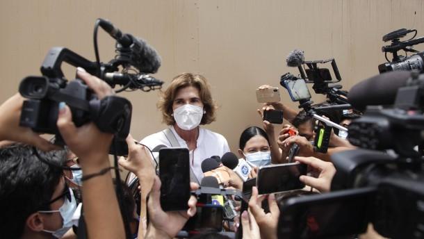 Ortegas Herausforderin unter Hausarrest
