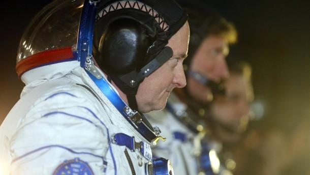 Amerikaner und Russe erreichen ISS