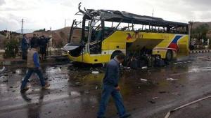 Anschlag auf Touristenbus im Sinai