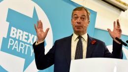 Polizei untersucht Einflussnahme der Tories auf Brexit-Partei