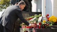 Poroschenko spricht von wahren Helden