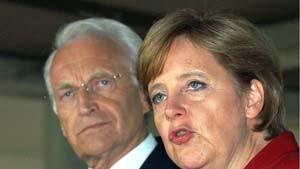 Merkel und Müntefering: Keine Ergebnisse vor Sonntag abend