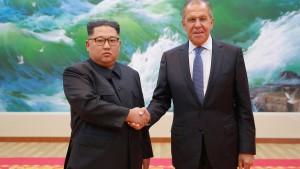 Kim: Unveränderter Wille zur Denuklearisierung